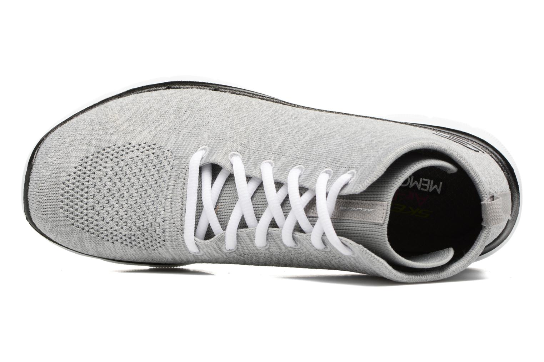 Baskets Skechers Flex Appeal 2.0 in Code Gris vue gauche