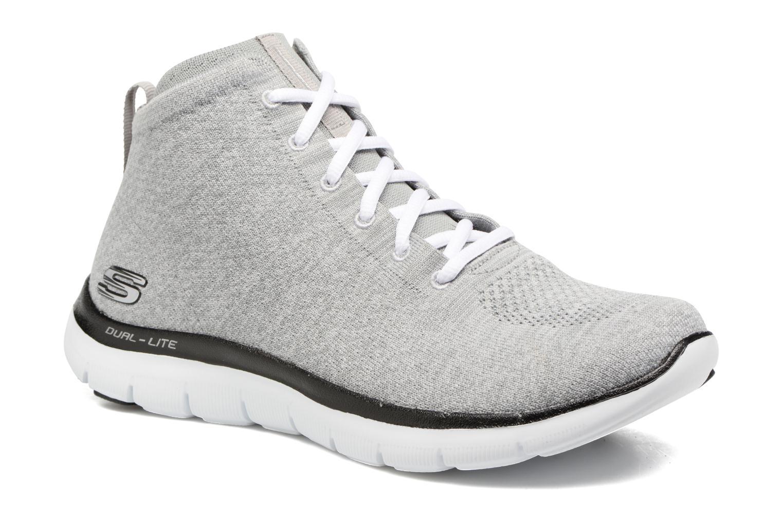 Sneakers Skechers Flex Appeal 2.0 in Code Grå detaljeret billede af skoene