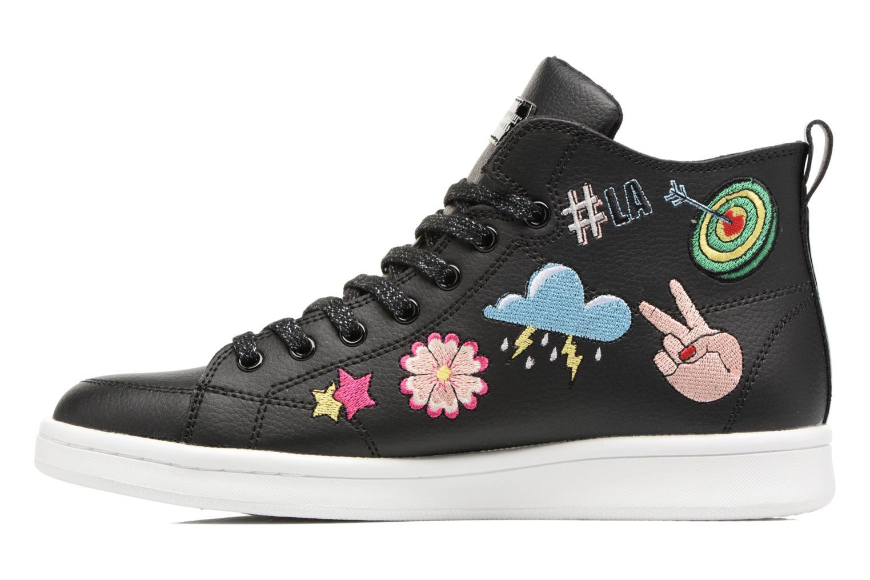 Sneakers Skechers Omne So L.A. Nero immagine frontale