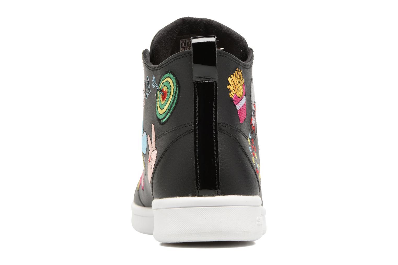 Sneakers Skechers Omne So L.A. Nero immagine destra