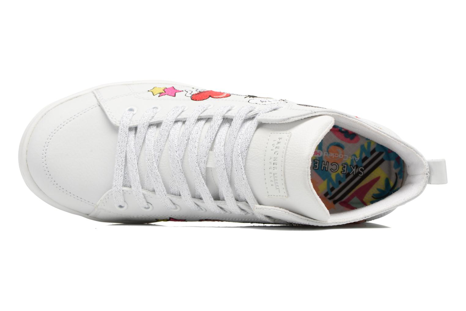 Trainers Skechers Omne So L.A. White view from the left