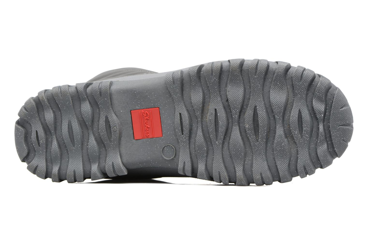 Sport shoes Skechers Windom dry spell Grey view from above