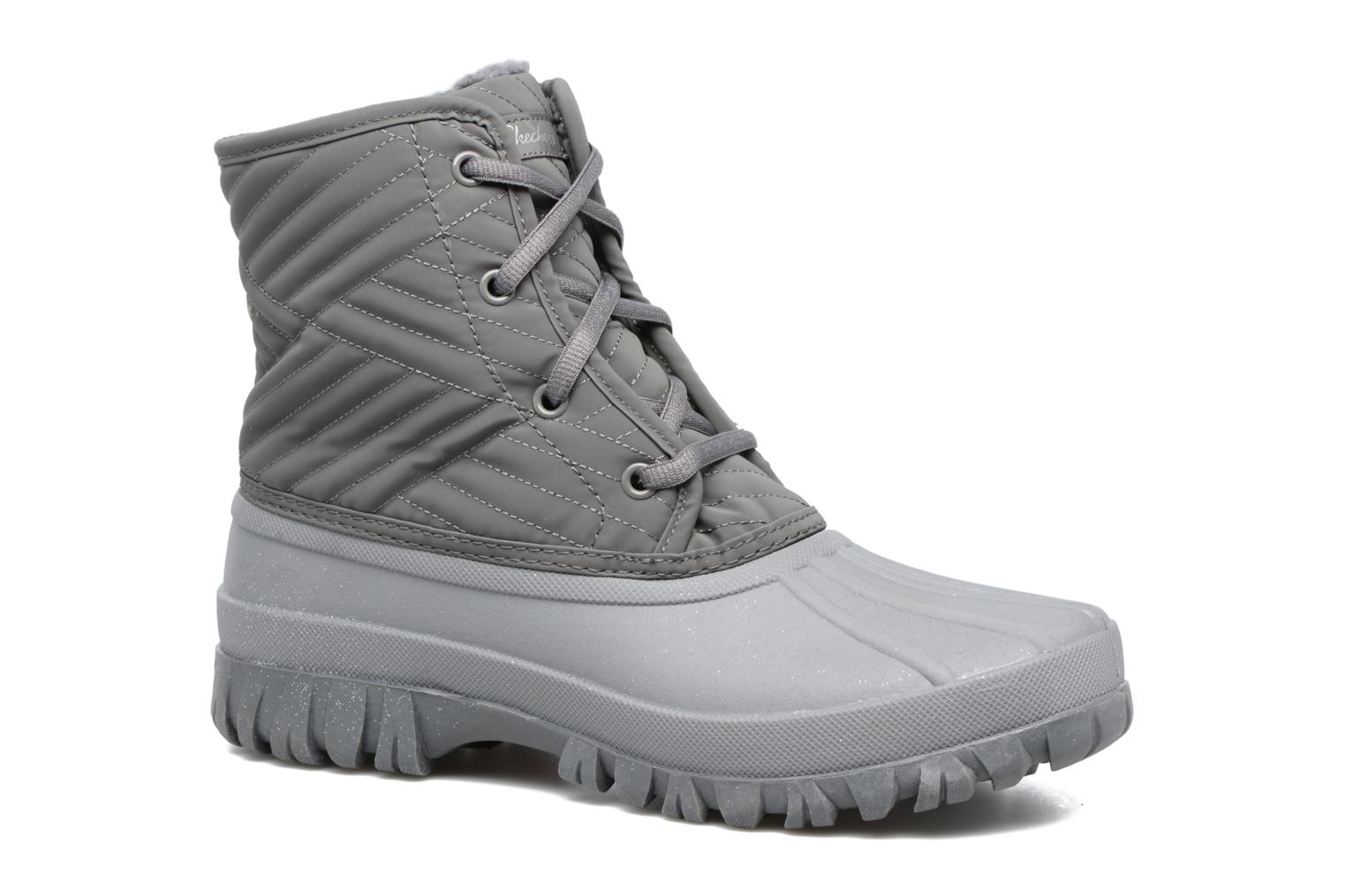 Sport shoes Skechers Windom dry spell Grey detailed view/ Pair view