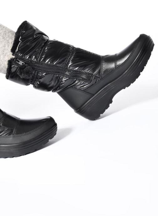 Zapatillas de deporte Skechers Alaska Abyss Negro vista de abajo