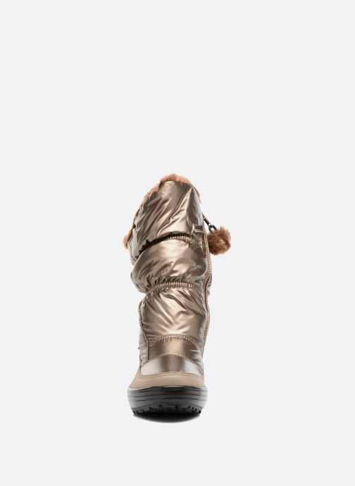 Sport shoes Skechers Alaska Abyss Bronze and Gold model view