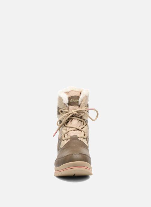 Chaussures de sport Skechers Colorado Castle Rock Marron vue portées chaussures