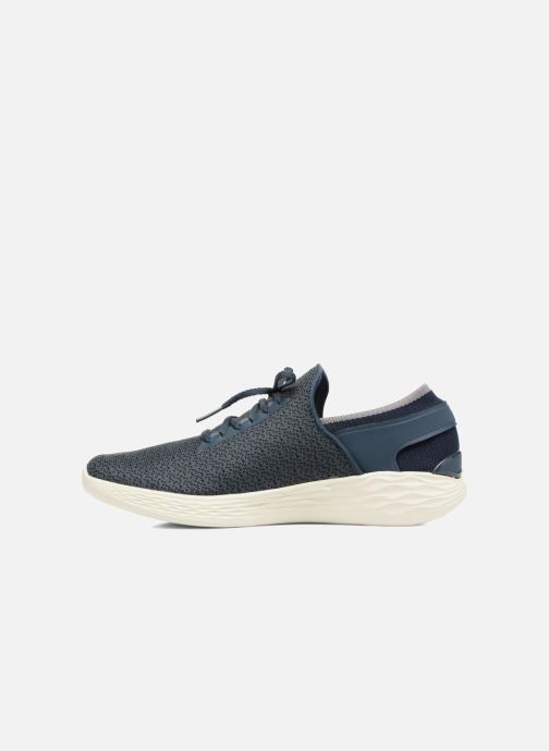 Sport shoes Skechers You Inspire Blue front view