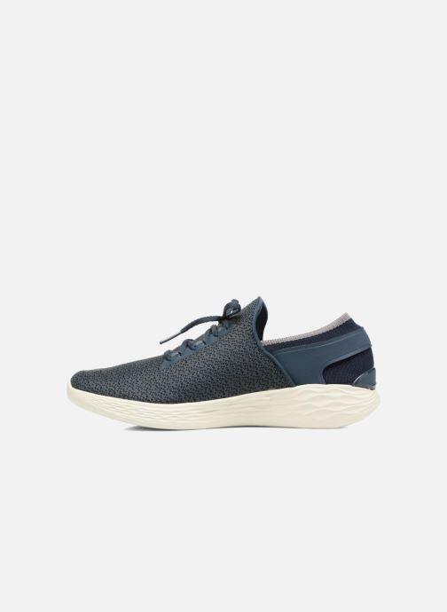Sportschuhe Skechers You Inspire blau ansicht von vorne
