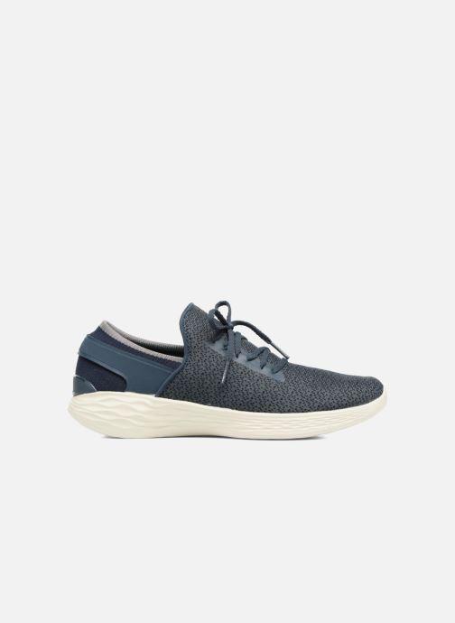 Sportschuhe Skechers You Inspire blau ansicht von hinten