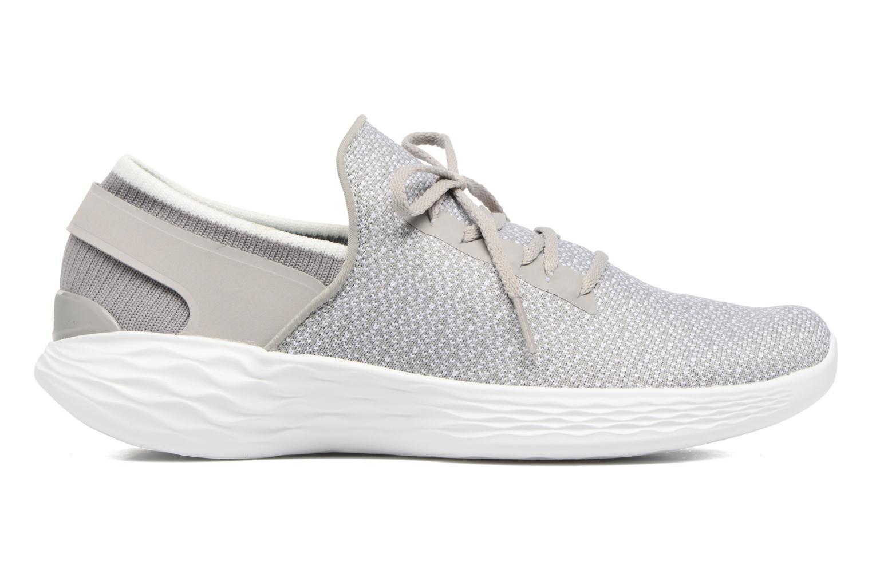 Sportschuhe Skechers You Inspire grau ansicht von hinten