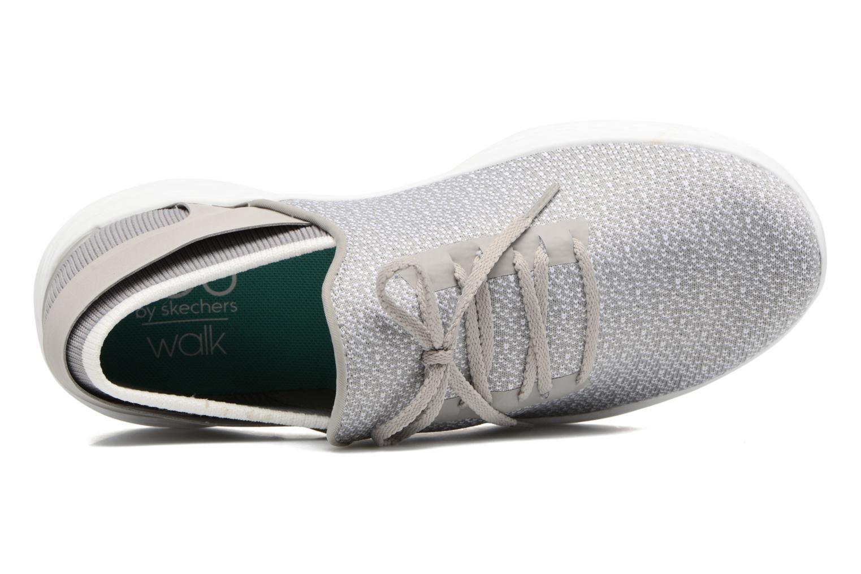 Sportschuhe Skechers You Inspire grau ansicht von links