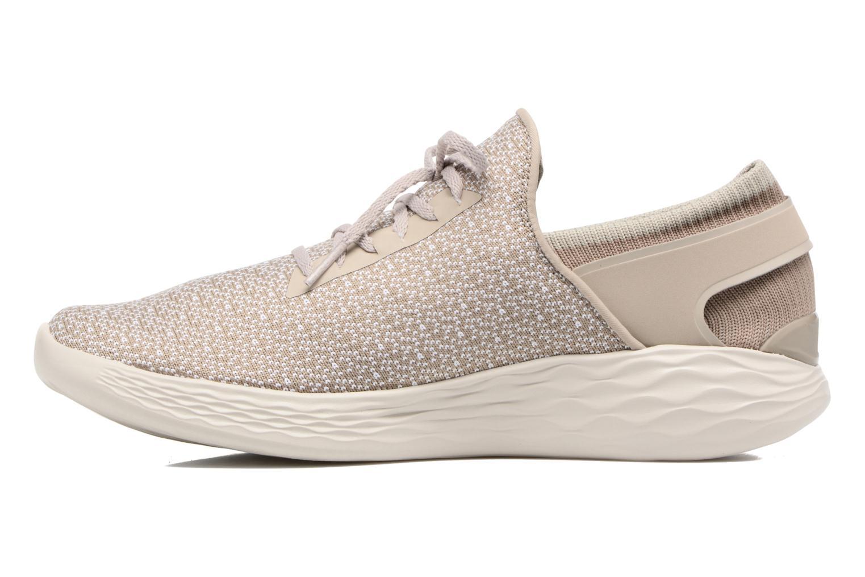 Chaussures de sport Skechers You Inspire Beige vue face