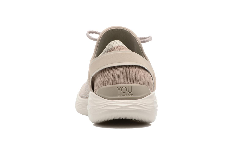 Chaussures de sport Skechers You Inspire Beige vue droite