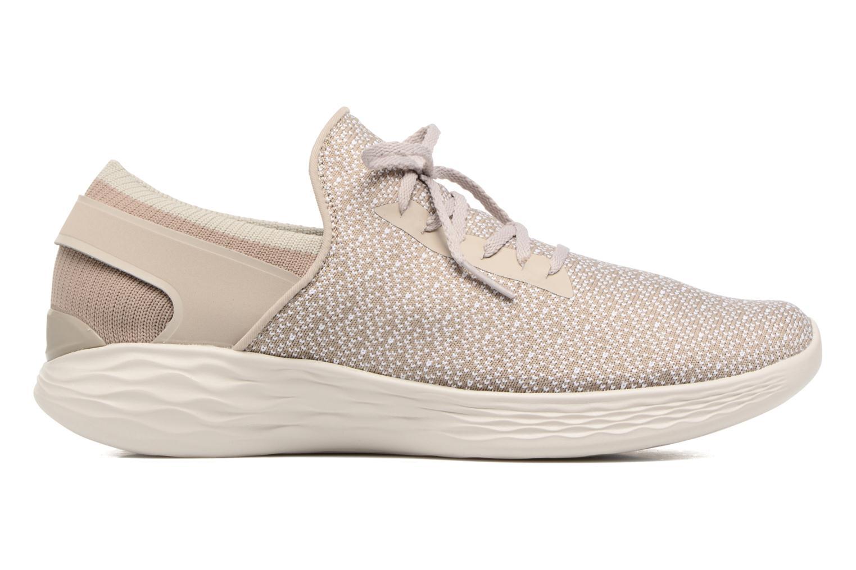Chaussures de sport Skechers You Inspire Beige vue derrière