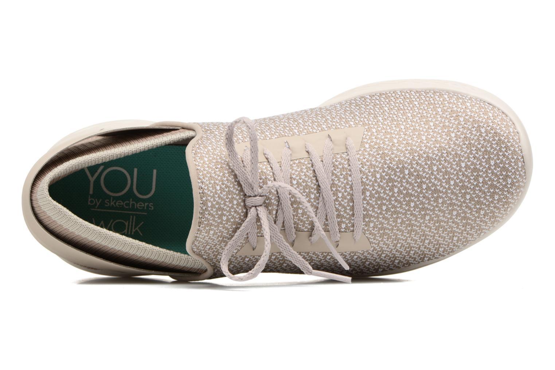 Chaussures de sport Skechers You Inspire Beige vue gauche