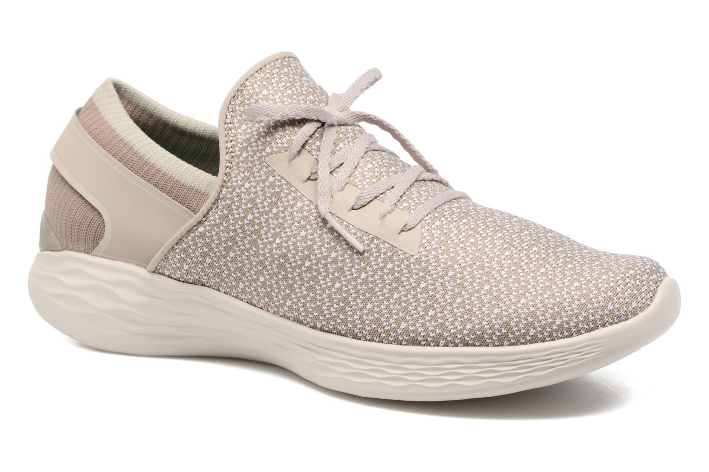 Chaussures de sport Skechers You Inspire Beige vue détail/paire