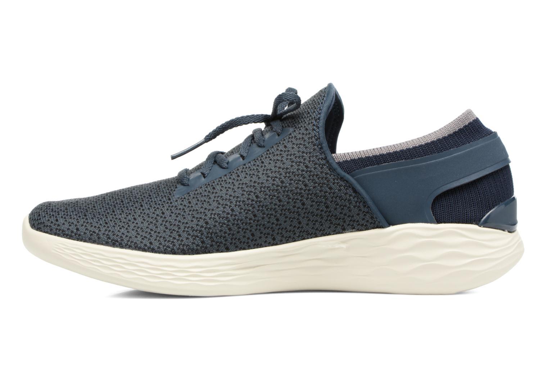 Zapatillas de deporte Skechers You Inspire Azul vista de frente