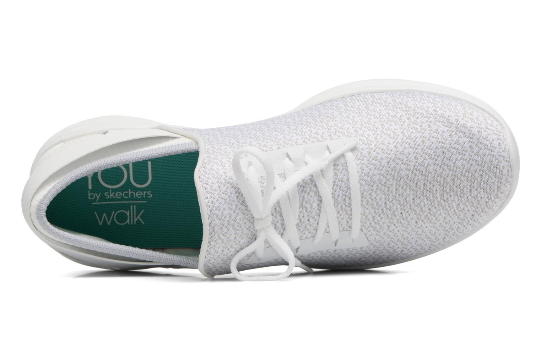 Scarpe sportive Skechers You Inspire Bianco immagine sinistra
