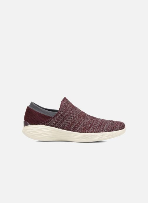 Sportschoenen Skechers You Bordeaux achterkant