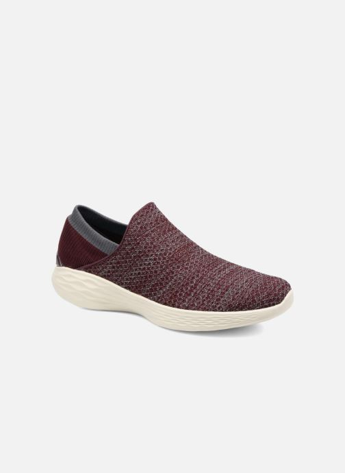 Sportschoenen Skechers You Bordeaux detail