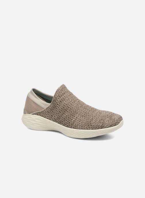 8b2b419d7de Skechers You (Beige) - Chaussures de sport chez Sarenza (317281)