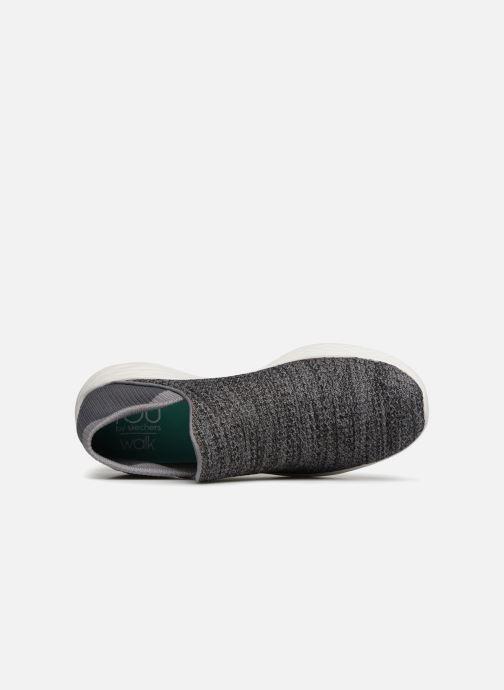 Zapatillas de deporte Skechers You Gris vista lateral izquierda