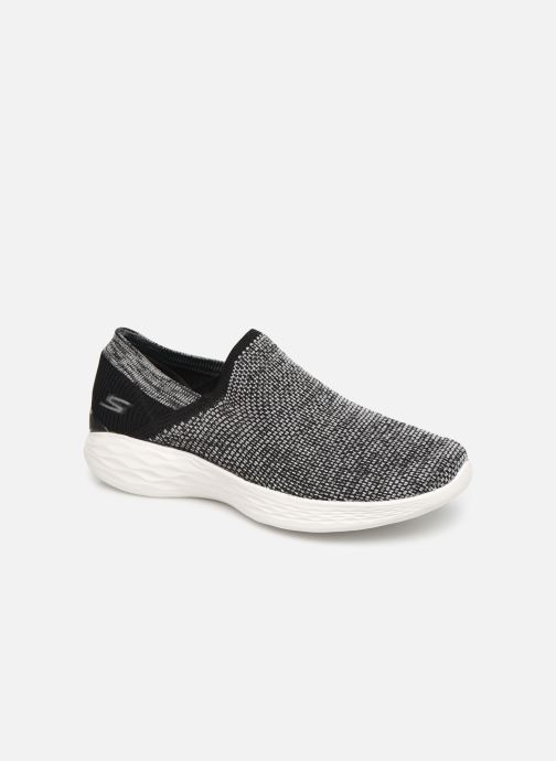 Chaussures de sport Skechers You Noir vue détail/paire
