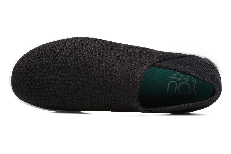 Scarpe sportive Skechers You Nero immagine sinistra