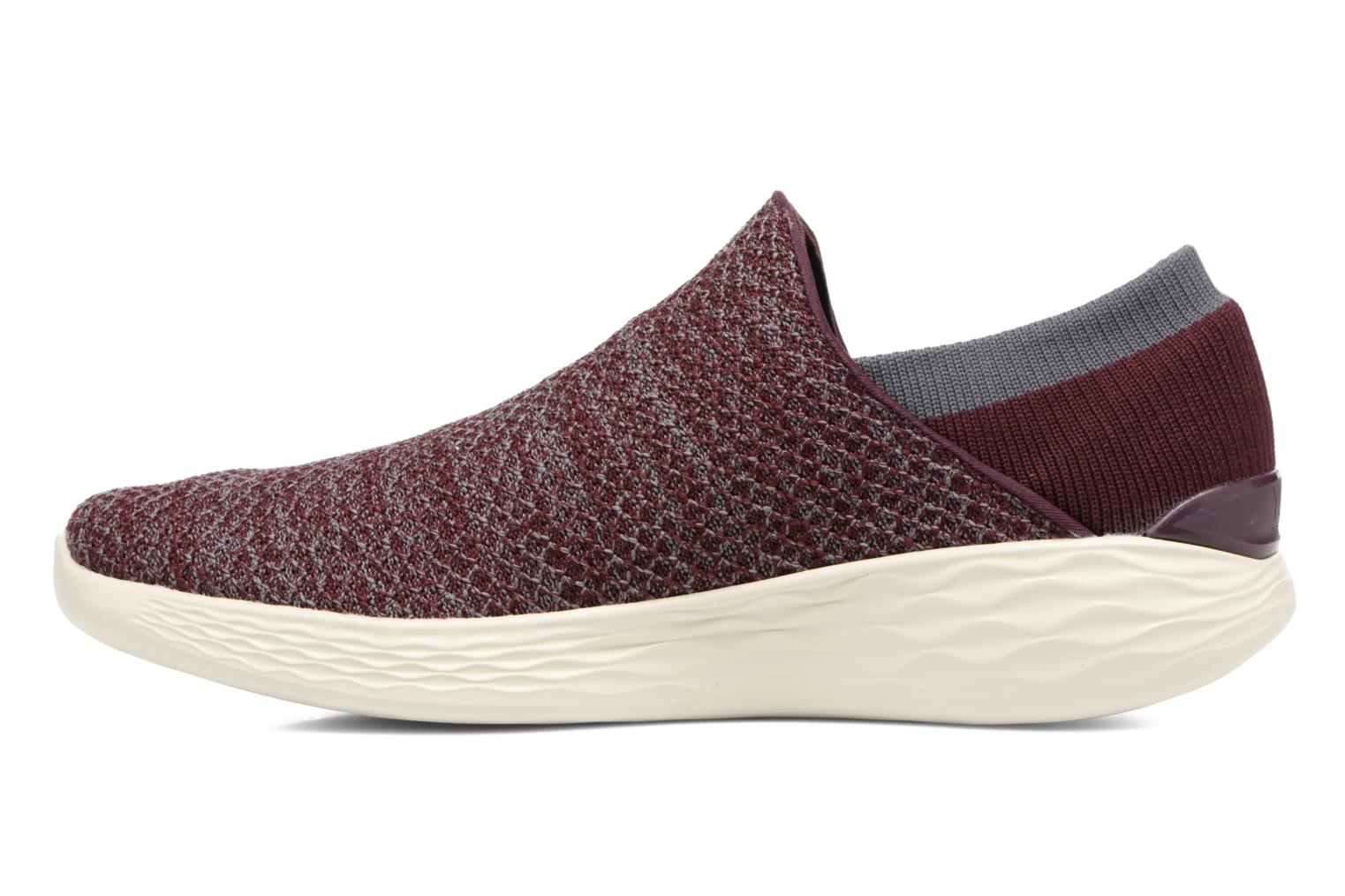 Sport shoes Skechers You Burgundy front view
