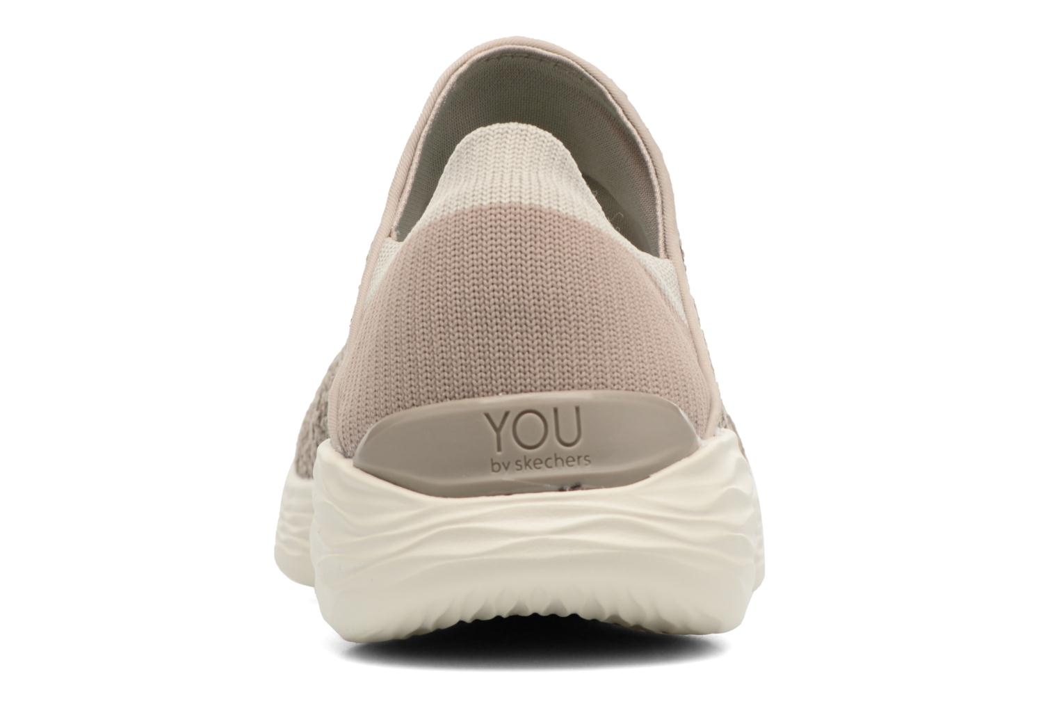 Sport shoes Skechers You Beige view from the right