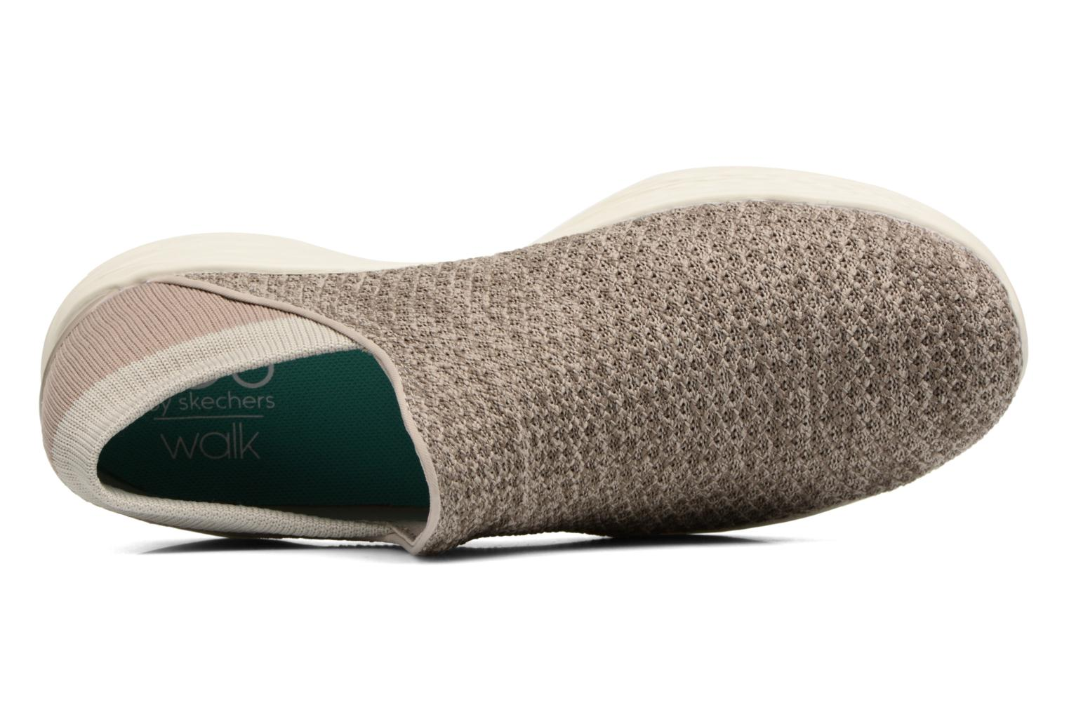 Sport shoes Skechers You Beige view from the left