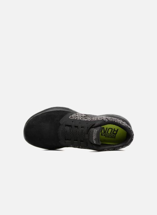 Chaussures de sport Skechers Go run 601 Noir vue gauche