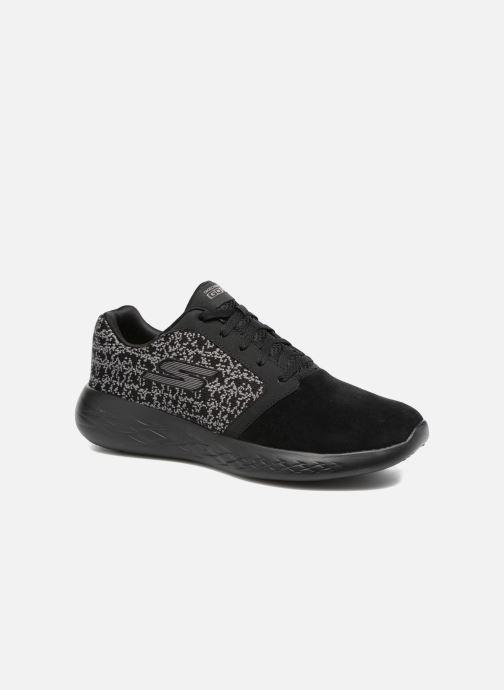 Chaussures de sport Skechers Go run 601 Noir vue détail/paire
