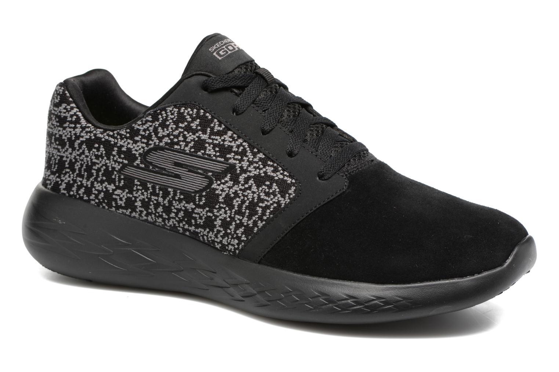 Sport shoes Skechers Go run 601 Black detailed view/ Pair view