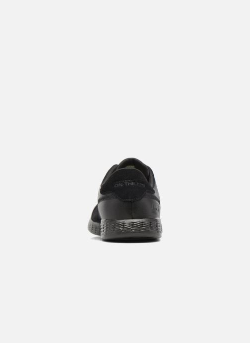 Deportivas Skechers On-the-go Glide Sharp Negro vista lateral derecha