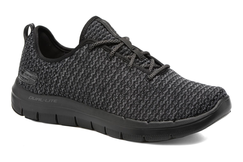 Chaussures de sport Skechers Flex Advantage 2.0 Cravy Gris vue détail/paire