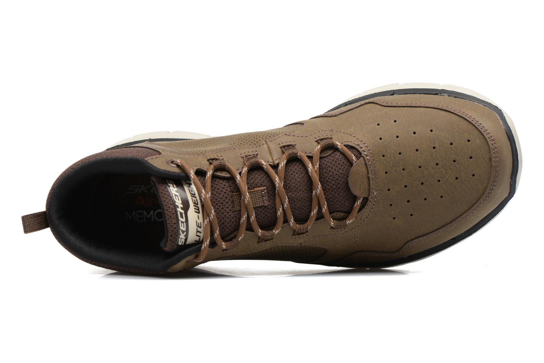 Zapatillas de deporte Skechers Flex Advantage 2.0 Marrón vista lateral izquierda