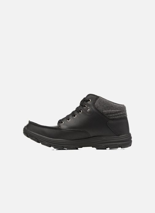 Ankle boots Skechers Garton Meleno Black front view