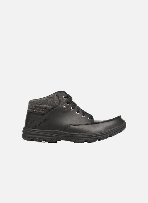 Ankle boots Skechers Garton Meleno Black back view