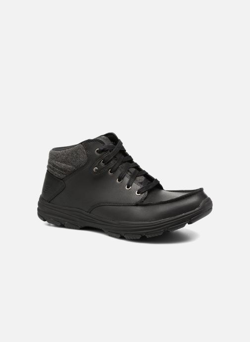 Ankle boots Skechers Garton Meleno Black detailed view/ Pair view