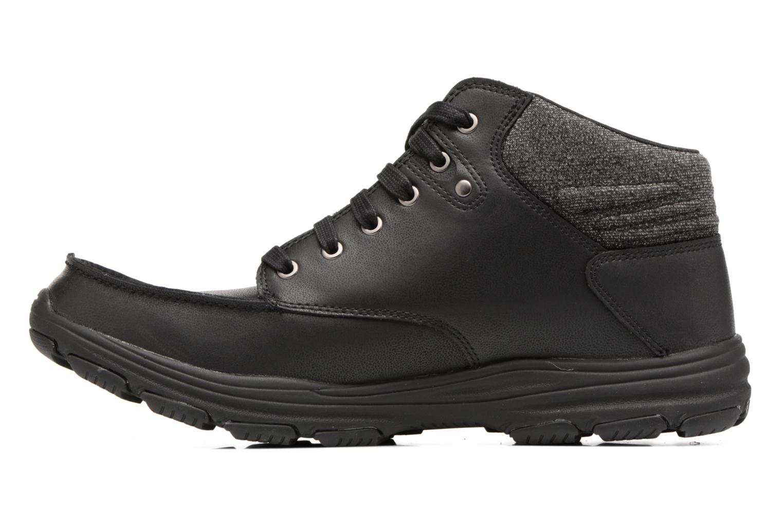 Stiefeletten & Boots Skechers Garton Meleno schwarz ansicht von vorne