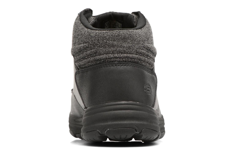 Stiefeletten & Boots Skechers Garton Meleno schwarz ansicht von rechts