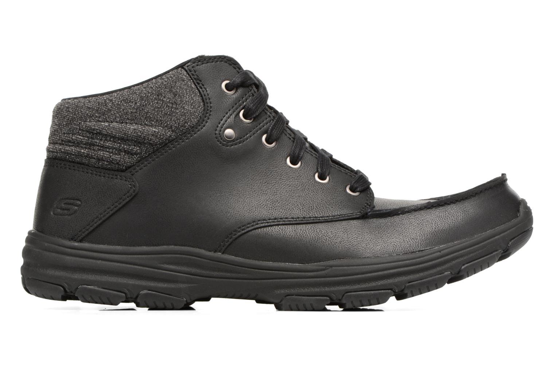 Stiefeletten & Boots Skechers Garton Meleno schwarz ansicht von hinten