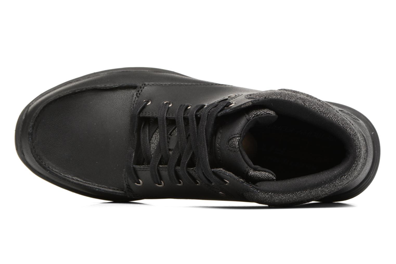 Stiefeletten & Boots Skechers Garton Meleno schwarz ansicht von links