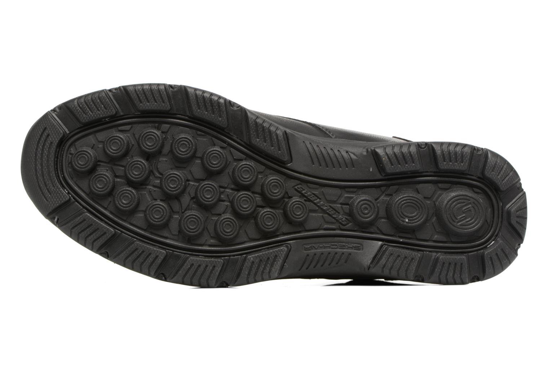 Stiefeletten & Boots Skechers Garton Meleno schwarz ansicht von oben
