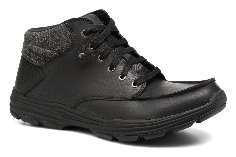 Stiefeletten & Boots Skechers Garton Meleno schwarz detaillierte ansicht/modell