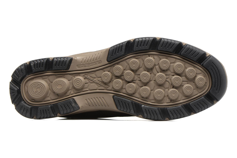 Bottines et boots Skechers Garton Meleno Marron vue haut