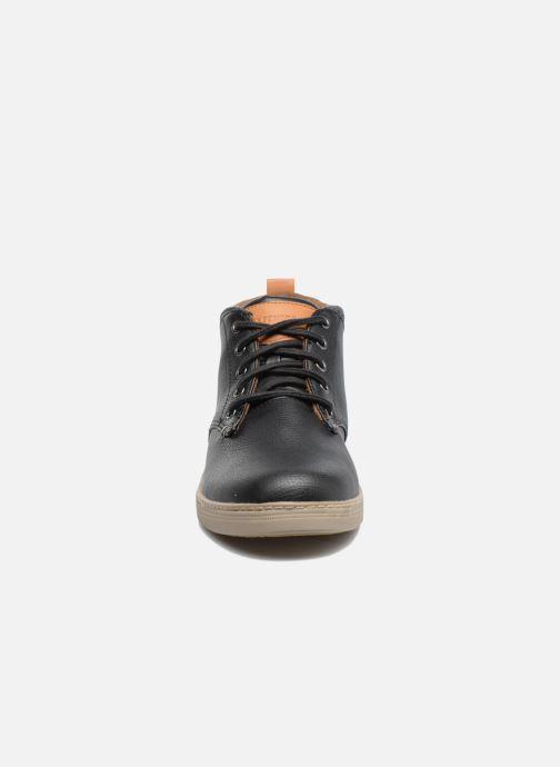 Zapatos con cordones Skechers Helmer Rolven Negro vista del modelo