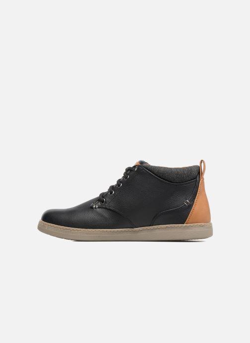 Zapatos con cordones Skechers Helmer Rolven Negro vista de frente