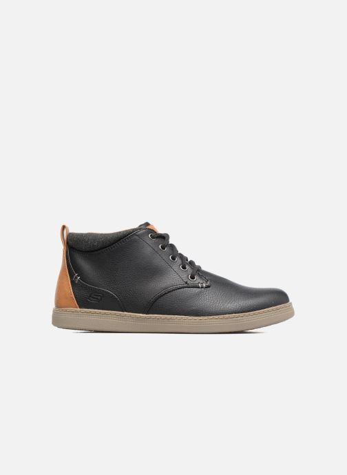 Zapatos con cordones Skechers Helmer Rolven Negro vistra trasera